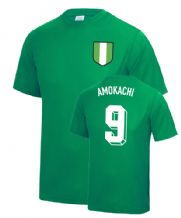 Daniel Amokachi Nigeria World Cup Football T Shirt